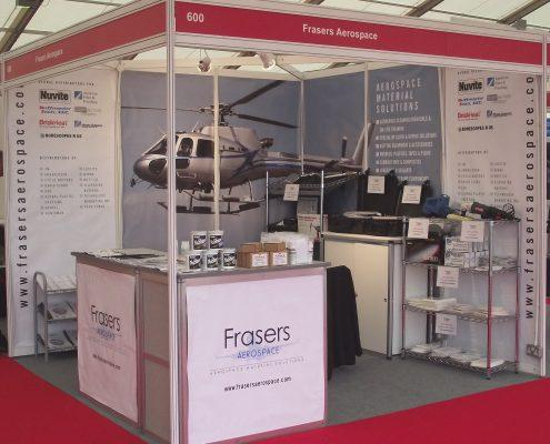 Frasers aerospace cleaning stand