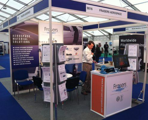 Frasers exhibition stand 2013