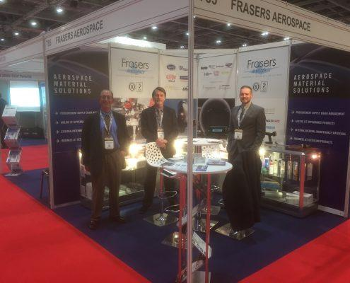 Airline Procurement Show with staff