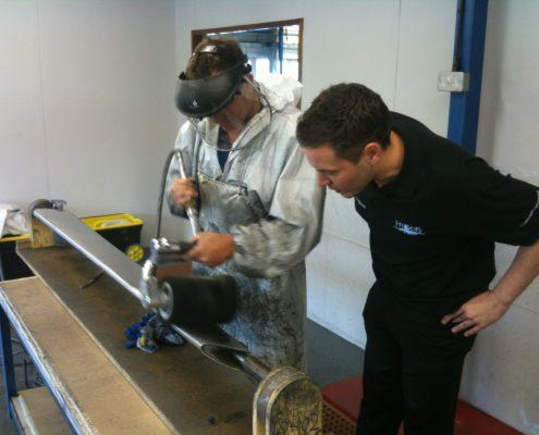 aluminium polishing training