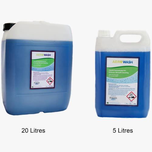 aircraft cleaner 20 and 5 ltr