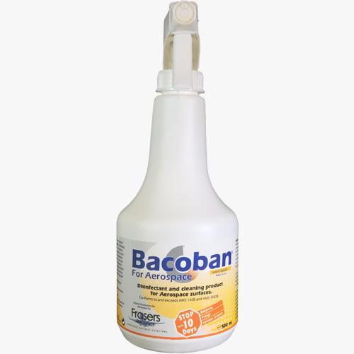 bacoban for aerospace aircraft cabin antibacterial cleaner