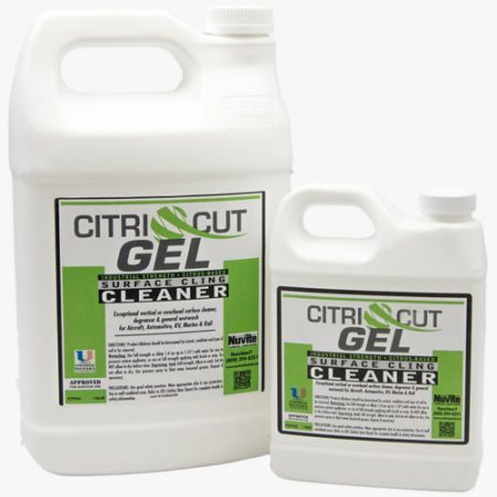 aircraft gel cleaner