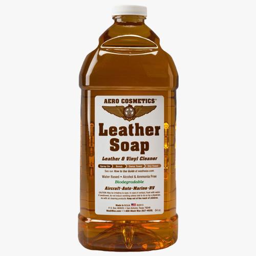 Aero Cosmetics Leather Soap Frasers Aerospace