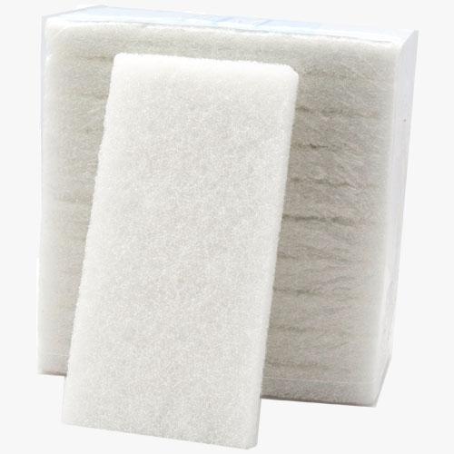 Dry wash scrub pads