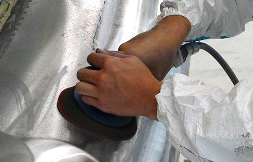 Boeing inlet metal polishing nuvite nushine
