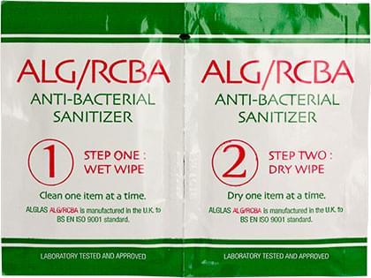 ALG/RCBA wipes