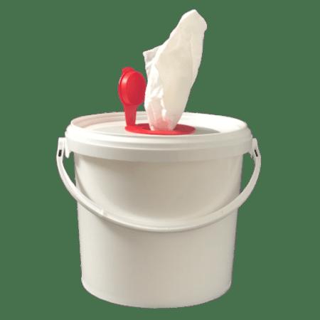 Dry wipe bucket