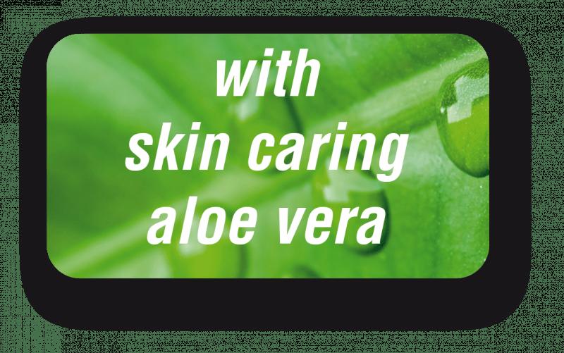 with skin caring aloe vera image